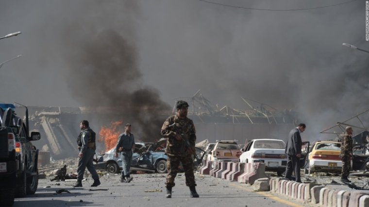 Kabul blasts: Double bombing kills 25, including journalists