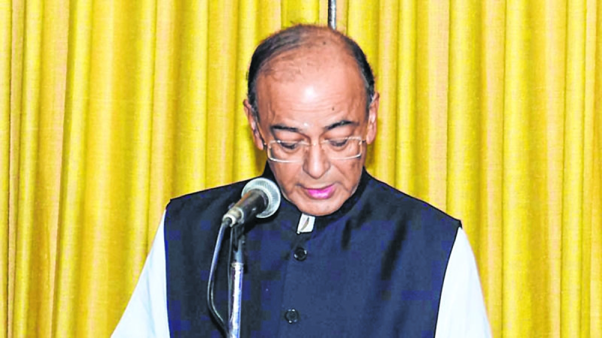 Jaitley takes oath as RS member for new term