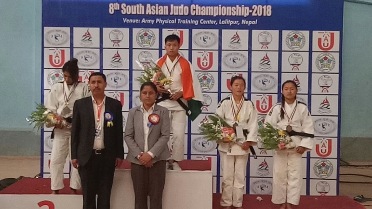 India win 8th South Asian Judo Championship