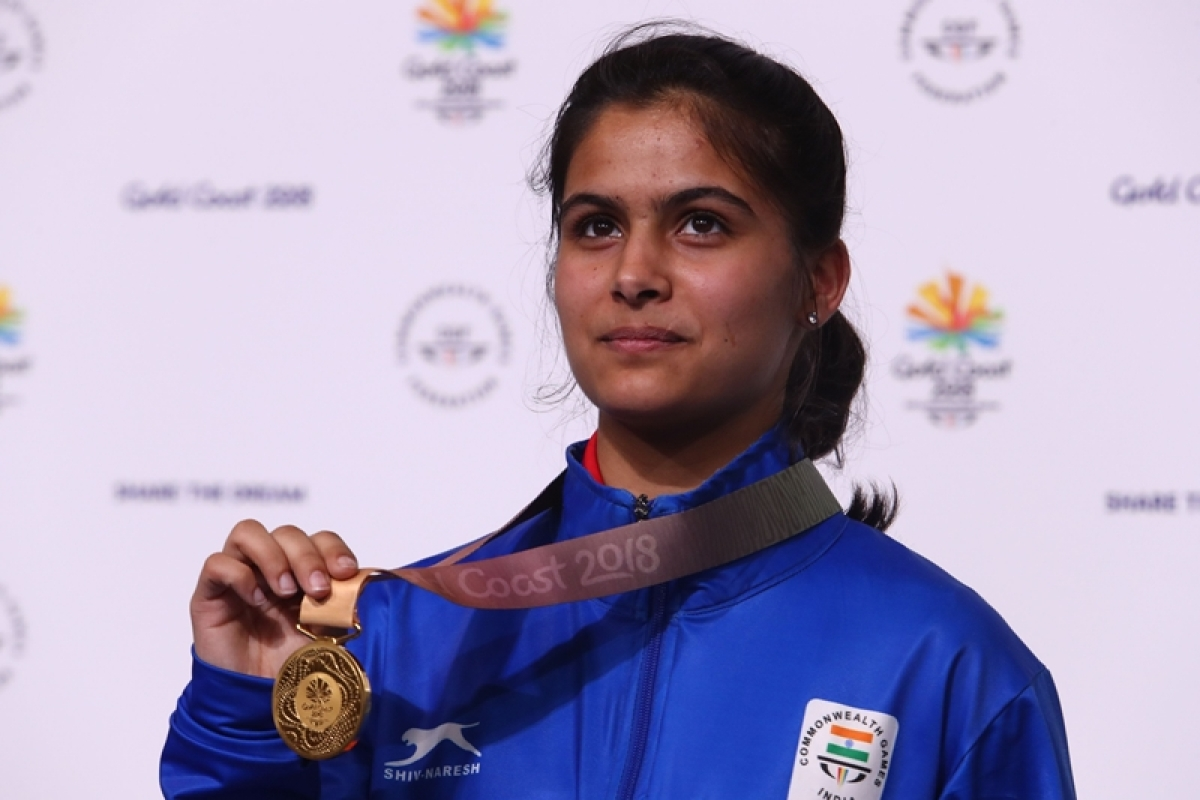 Indian shooter Manu Bhaker donates Rs 1 lakh to state's coronavirus relief fund