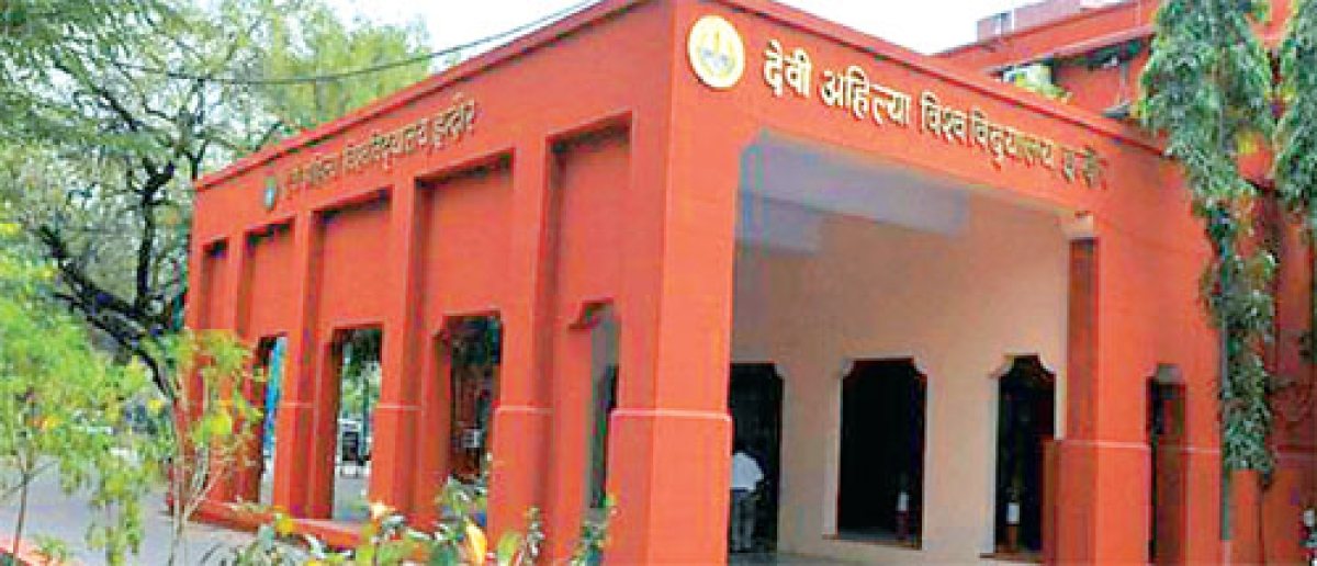 Indore: DAVV to check exam centres ahead of CET