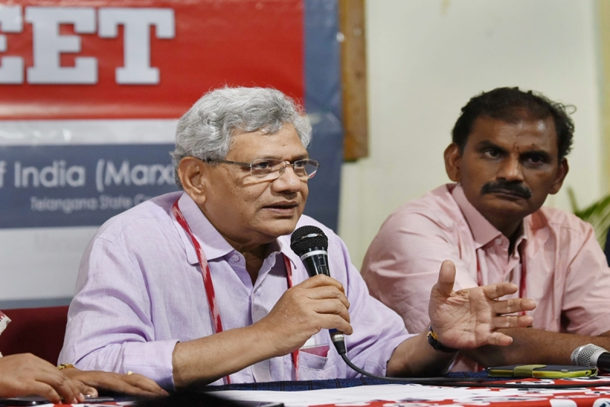 Madhya Pradesh Assembly Polls 2018:  BJP spreading hate and violence, says Sitaram Yechury