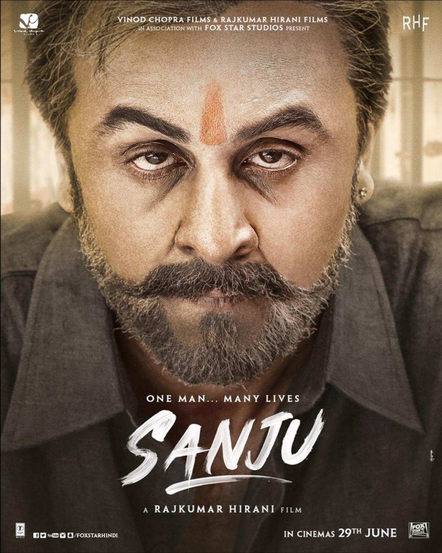 'Sanju' new poster: Check out the close view of Ranbir Kapoor as Sanjay Dutt