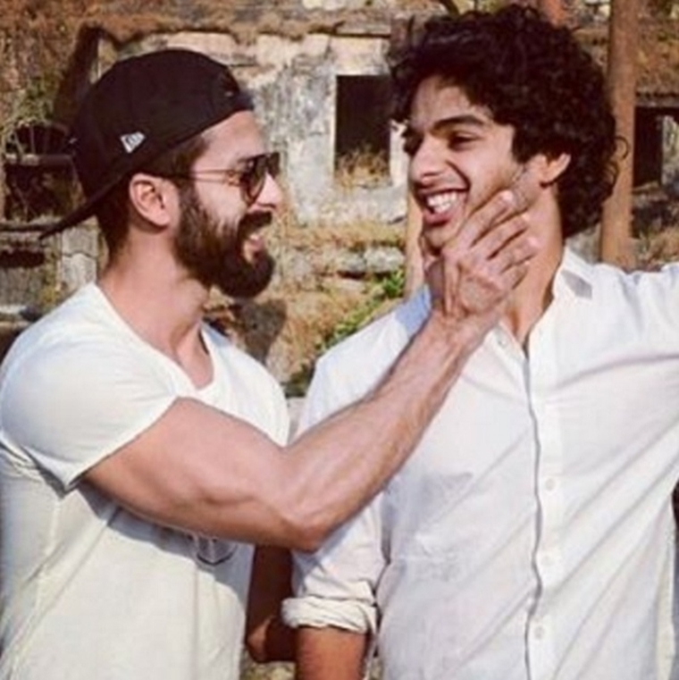 Find out what tips Dhadak star Ishaan Khatter got from brother Shahid Kapoor