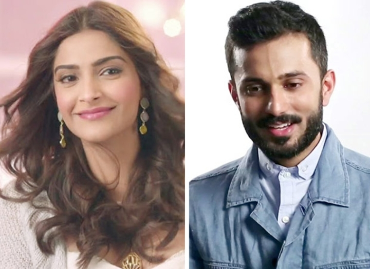 Sonam Kapoor comes out publicly about her relationship with Anand Ahuja, shares a video from their personal chat!