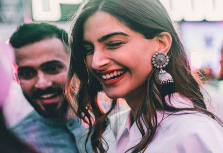 Everybody will hear everything in all good time: Sonam Kapoor on marriage with Anand Ahuja