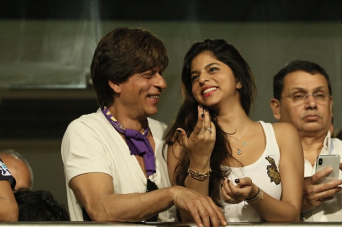 'My daughter is sanwli, but she's the most beautiful girl in the world', says Shah Rukh Khan on fairness cream controversy
