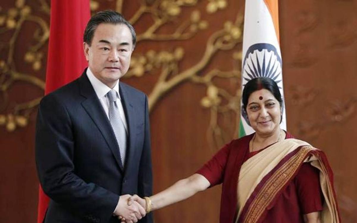 Sushma Swaraj in China from Saturday, hold talks with Wang Yi