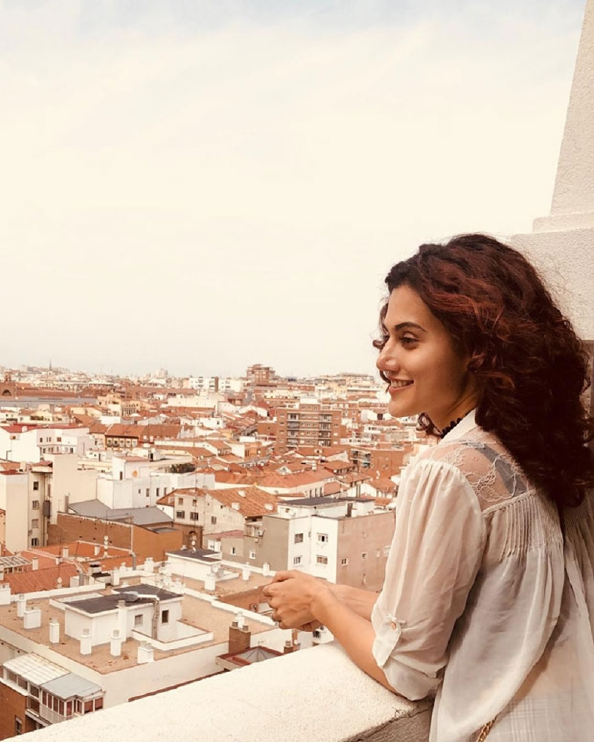 Taapsee Pannu takes a trip to Spain; check out the pictures