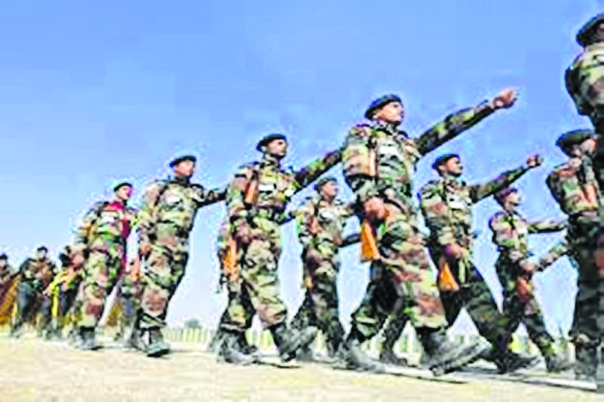 Army boosts strength at tri-junction near Tibet