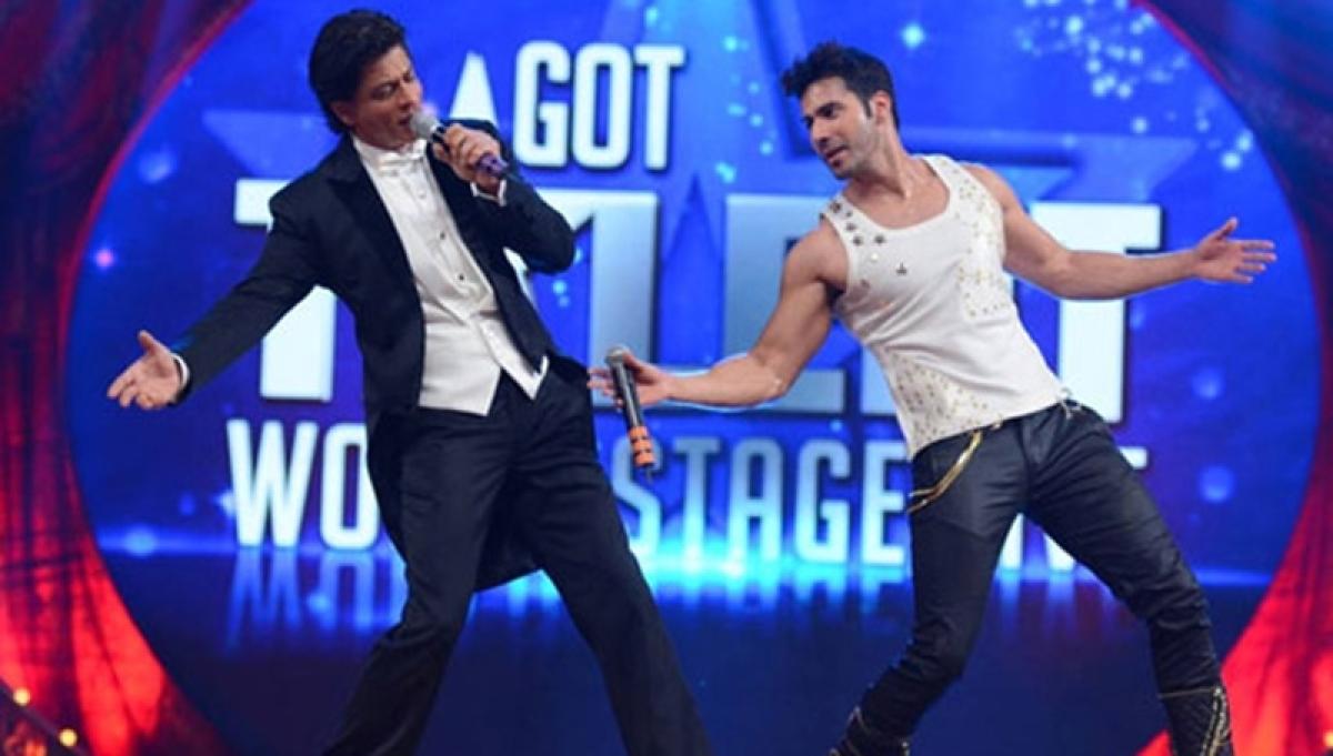 Woah! 'October' star Varun Dhawan does a Shah Rukh Khan, find out how