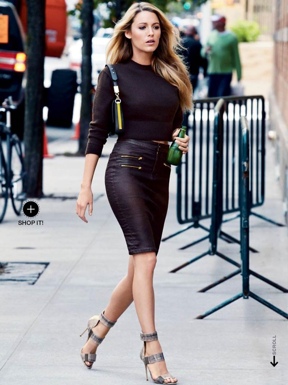 Walk like a pro, actress Blake Lively style