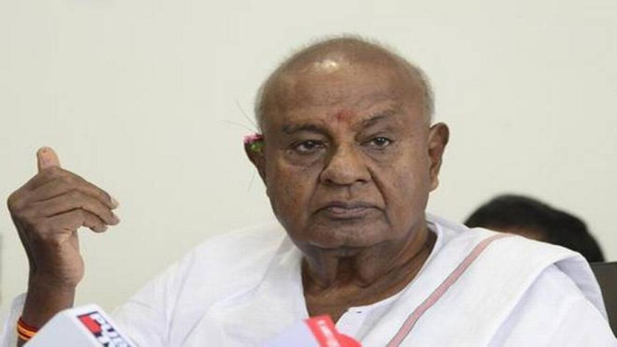 Rajya Sabha's 4th Karnataka seat for Deve Gowda?