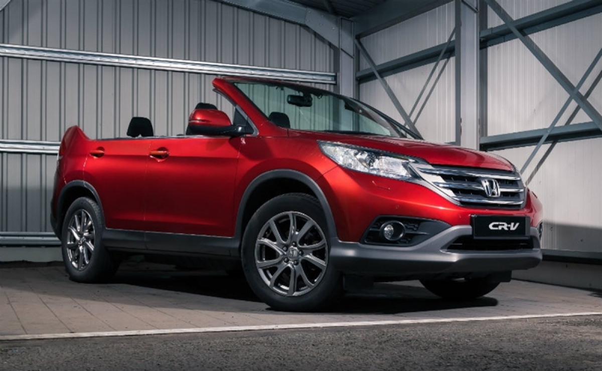 The new Honda CR-V Roadster was intended as an April Fool's prank that the company pulled off on customers and enthusiasts. The Japanese automaker even sent a press release to make the unveiling look real.
