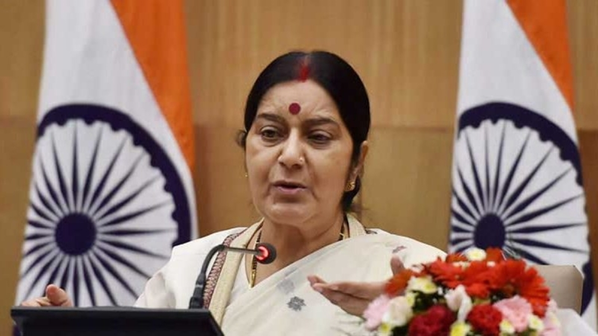 No talks, not to participate in SAARC unless Pakistan stops terror: Sushma Swaraj