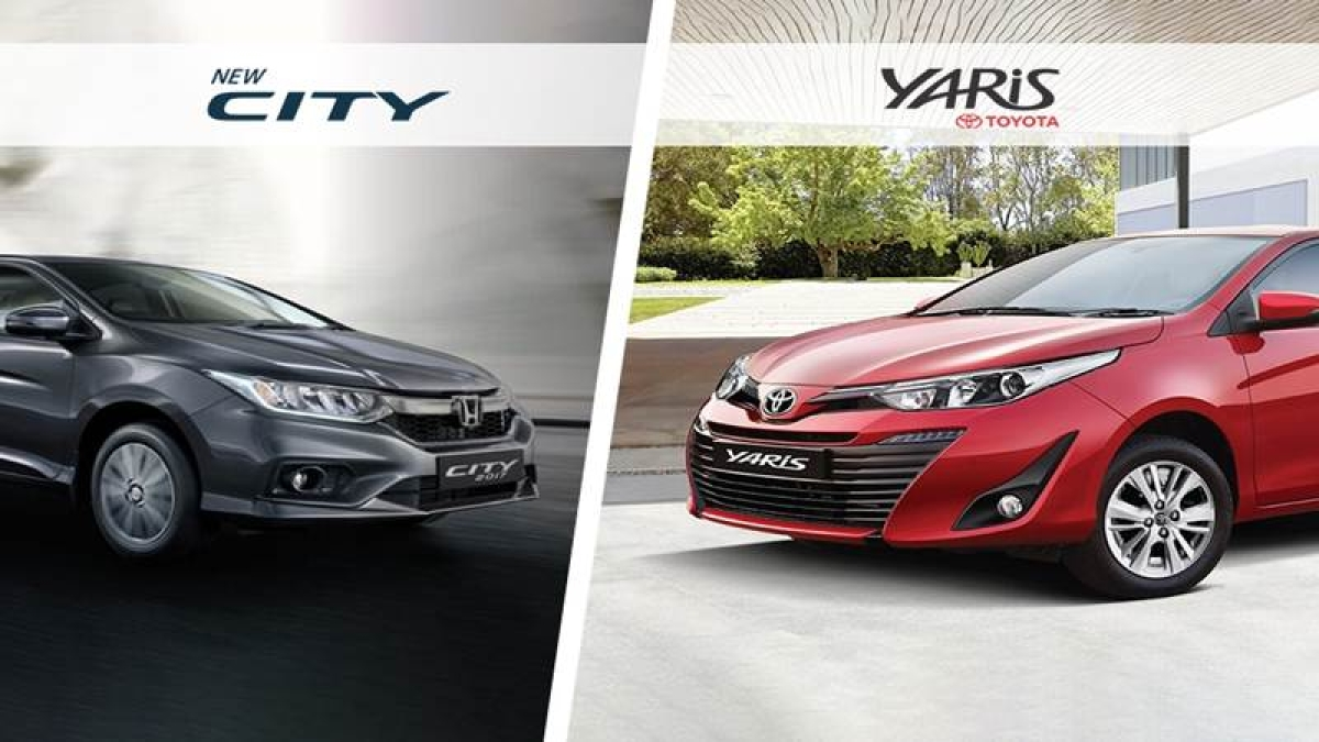 Toyota Yaris Vs Honda City – Spec Comparison