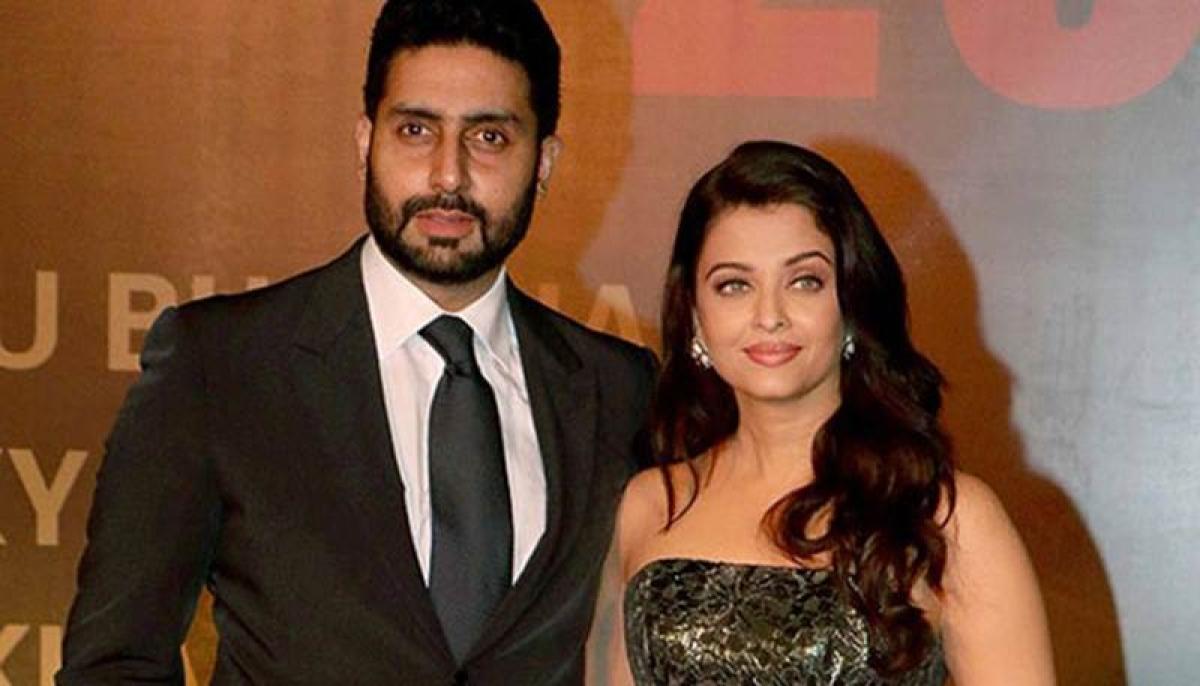 Aishwarya Rai Bachchan hints on doing a movie with hubby Abhishek