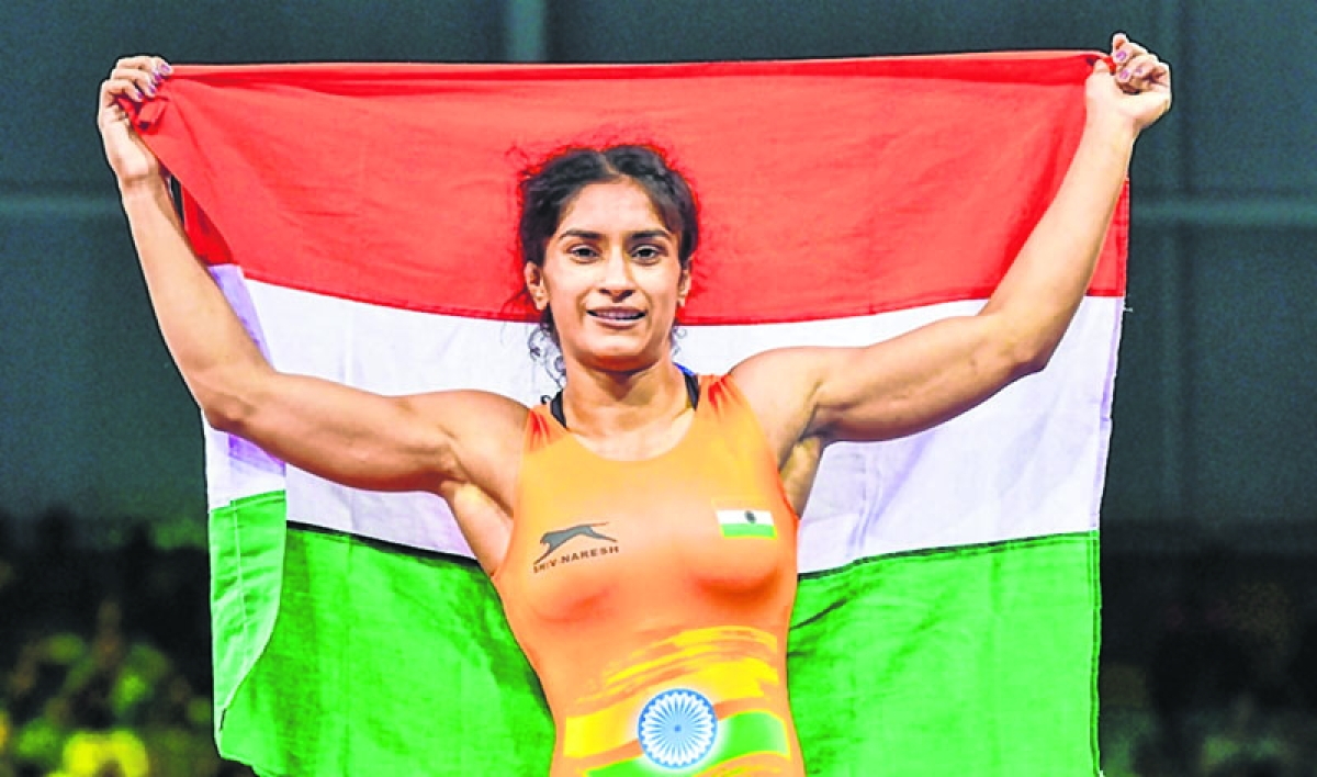 Vinesh Phogat wants medal, history in 2020 Olympics