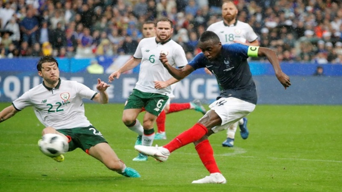France beat Ireland 2-0 in pre-World Cup friendly
