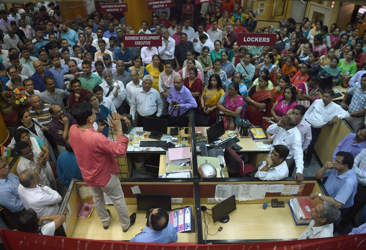 Bank strike continues for 2nd day in Maharashtra