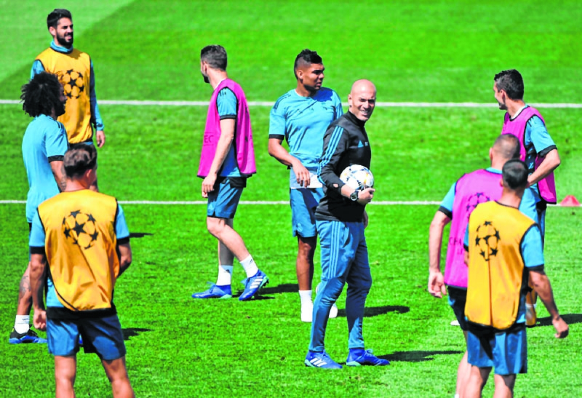 Not worried about CL result: Zidane
