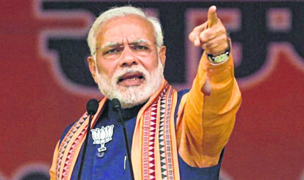 PM Narendra Modi terms minority reservation a betrayal of nation