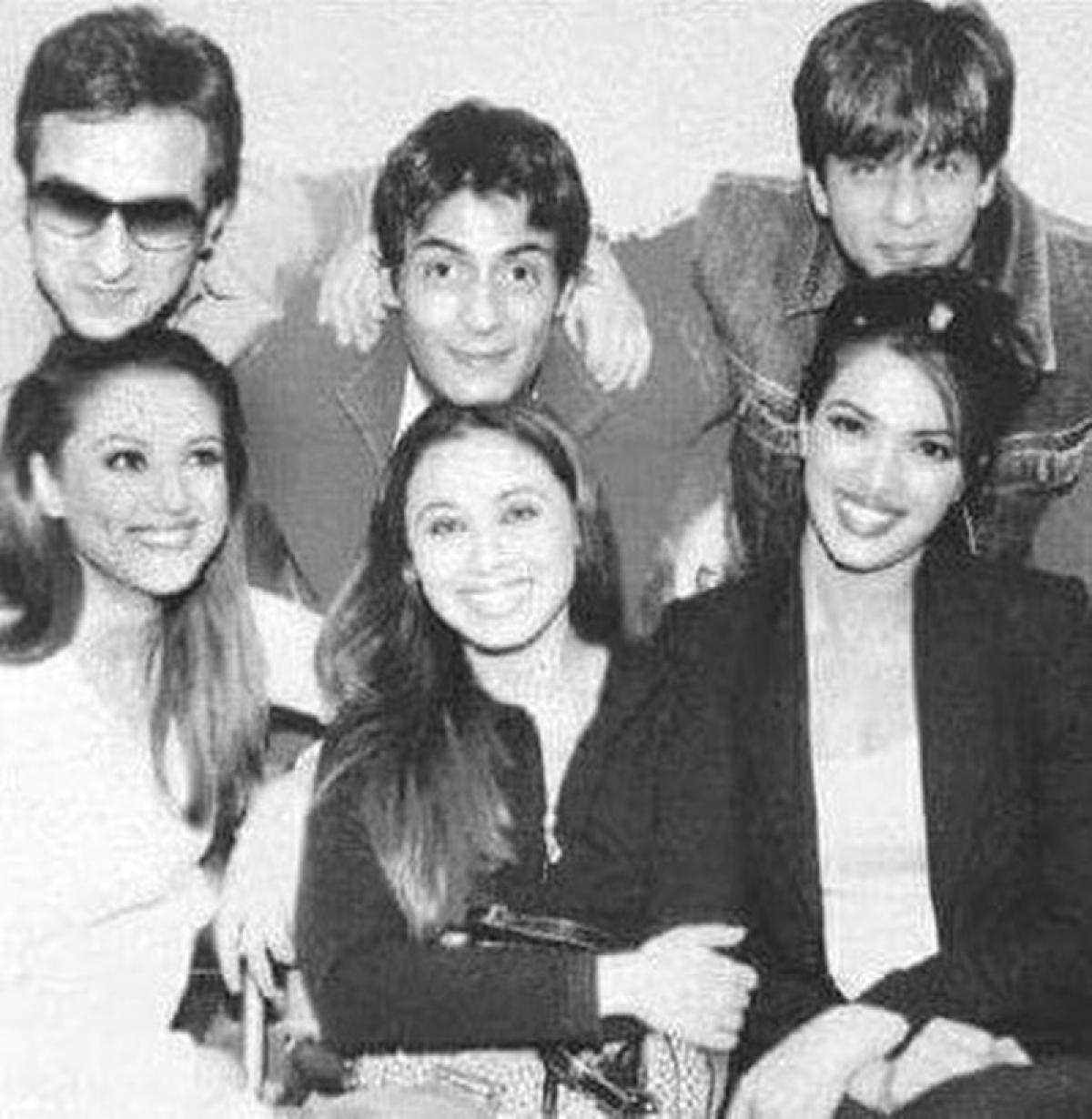 Preity Zinta's throwback pic with SRK, Saif, Rani and Priyanka will make you nostalgic