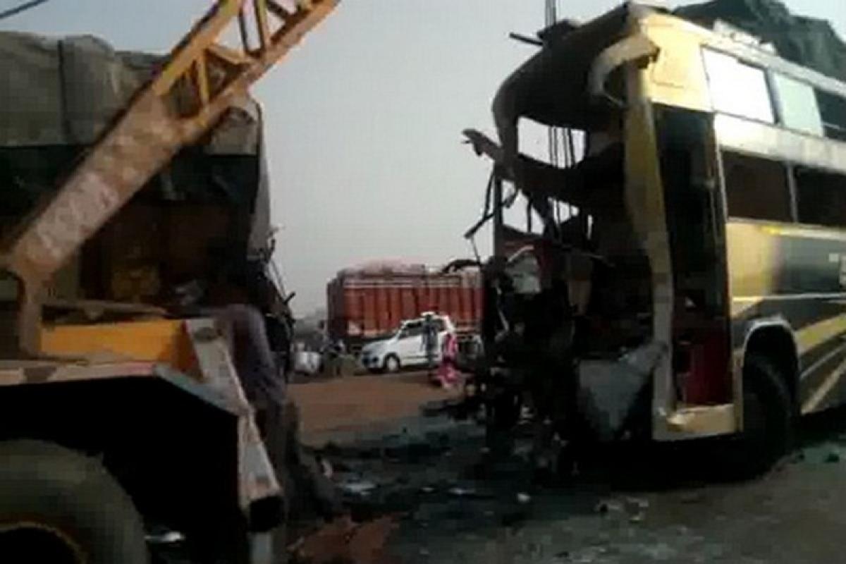 Madhya Pradesh: 9 killed, 20 injured in bus-truck collision near Guna