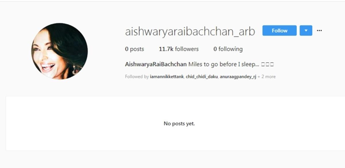 Wow! Aishwarya Rai Bachchan makes official debut on Instagram