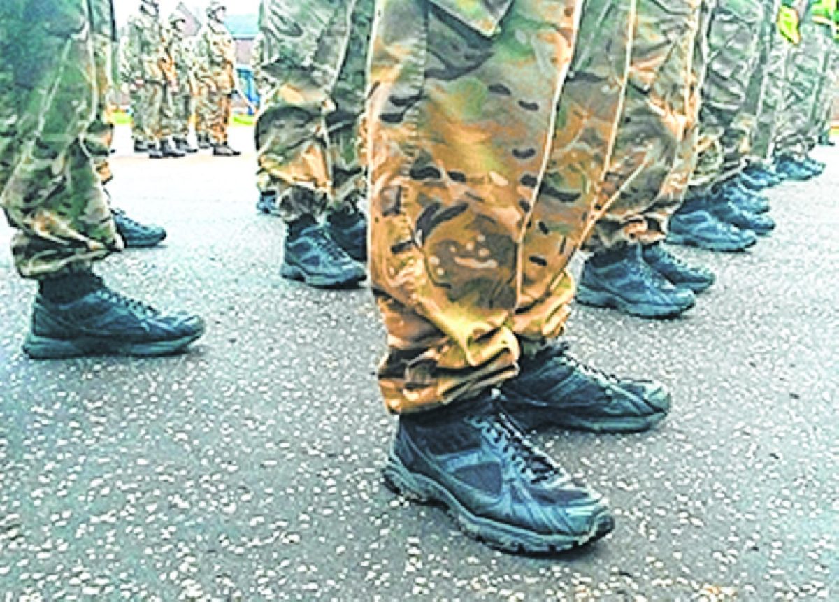 Sports shoes to replace canvas ones: Army's final trial from June