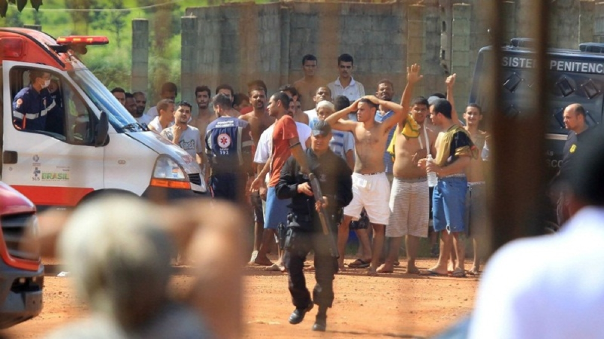 9 dead in Brazil juvenile jail riot after mattress torched