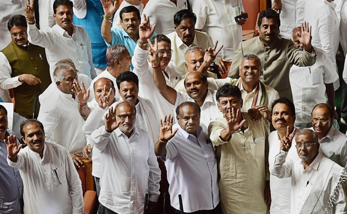 Karnataka Cabinet: JD(S) gets Finance ministry, Congress Home