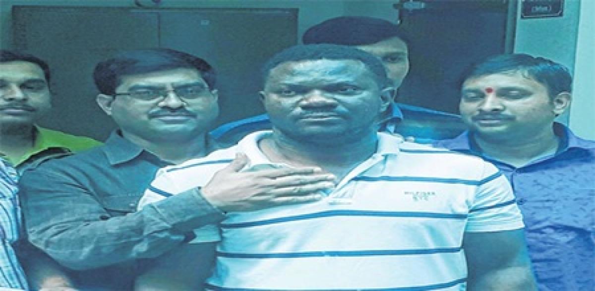 Indore: Nigerian national arrested from Delhi for online frauds