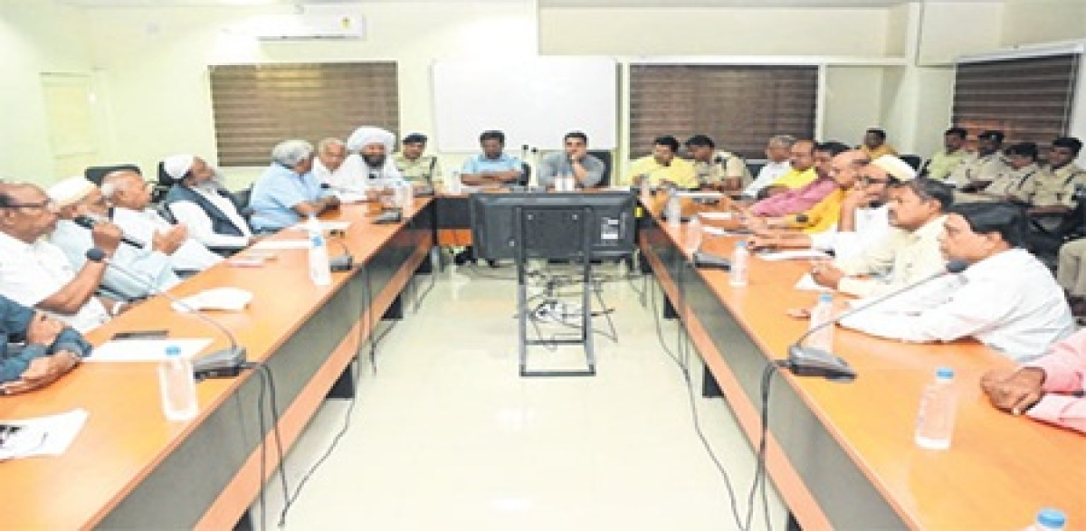 Ujjain: Collector serves ultimatum to the anti-social elements