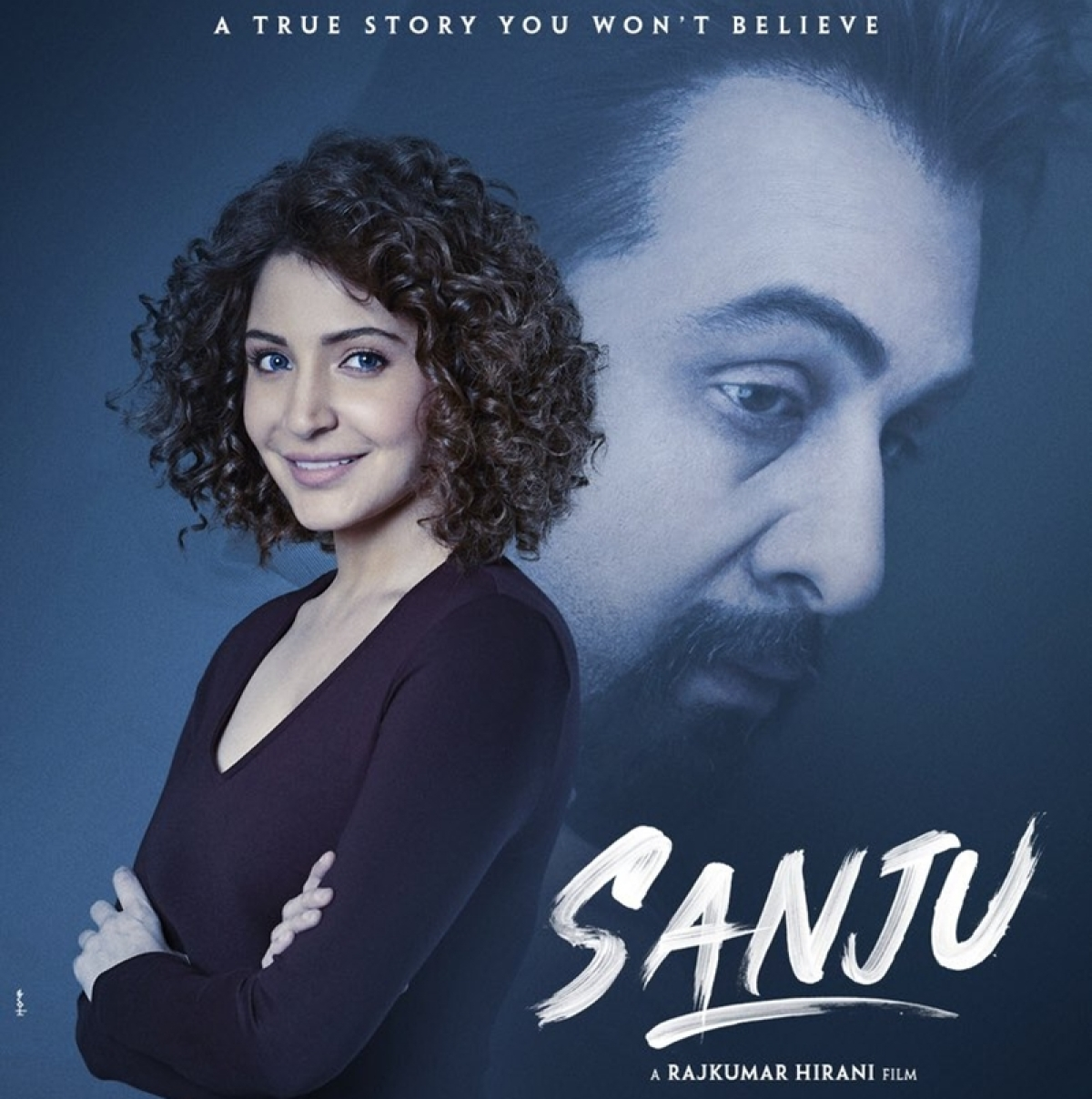 Sanju poster: Anushka Sharma's look from Sanjay Dutt's biopic revealed, can you guess who she is?