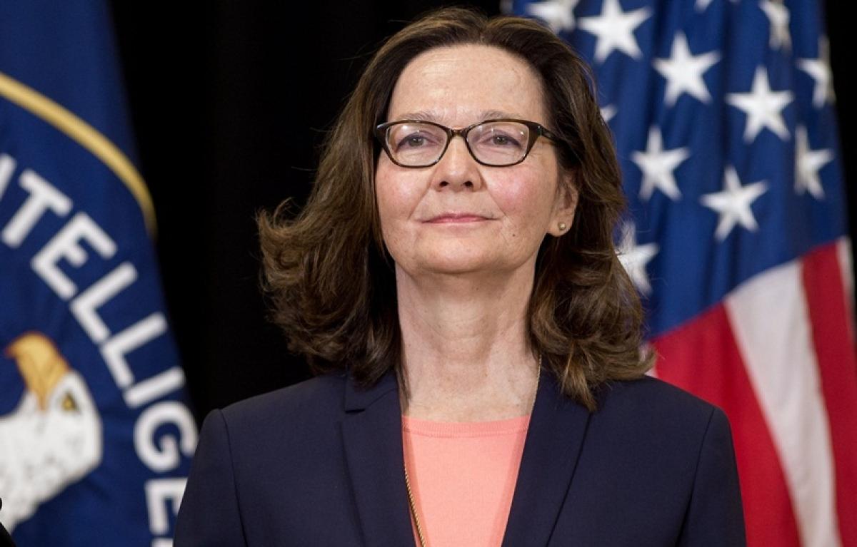 Gina Haspel sworn in as first female director of CIA