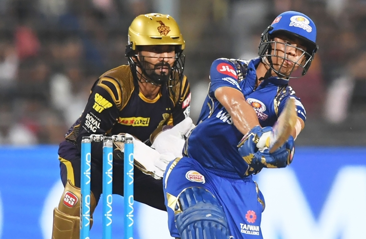 IPL 2018: Watch how Ishan Kishan replicated MS Dhoni's 'helicopter shot' against KKR!
