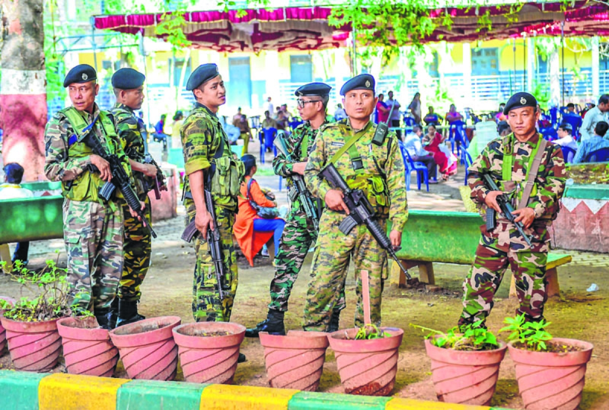 Security beefed up in Mizoram after NRC publication