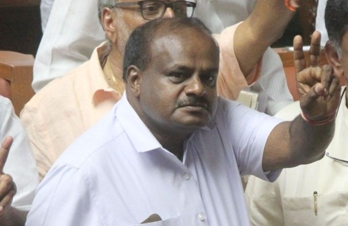 Kumaraswamy to take oath as Karnataka Chief Minister today