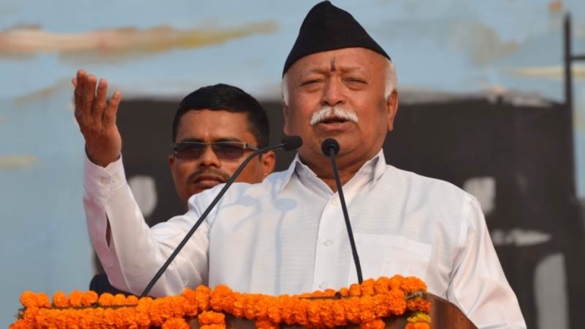 Why no noise over cattle smugglers attacking gaurakshaks, asks RSS chief Mohan Bhagwat