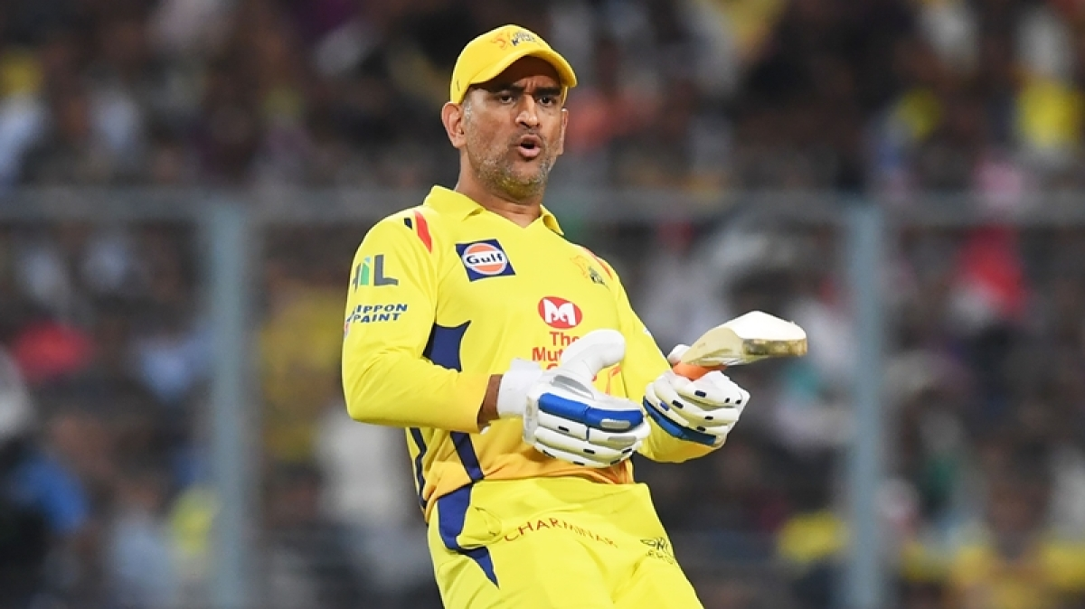 IPL 2018, KKR vs CSK: MS Dhoni's fan touches his feet during the match; watch video