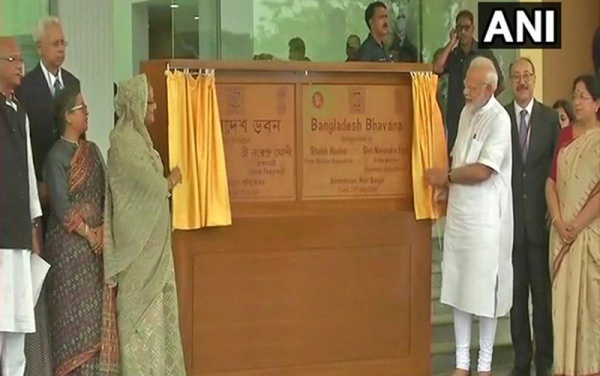 West Bengal: PM Modi, Sheikh Hasina inaugurate Bangladesh Bhavan in Shantiniketan