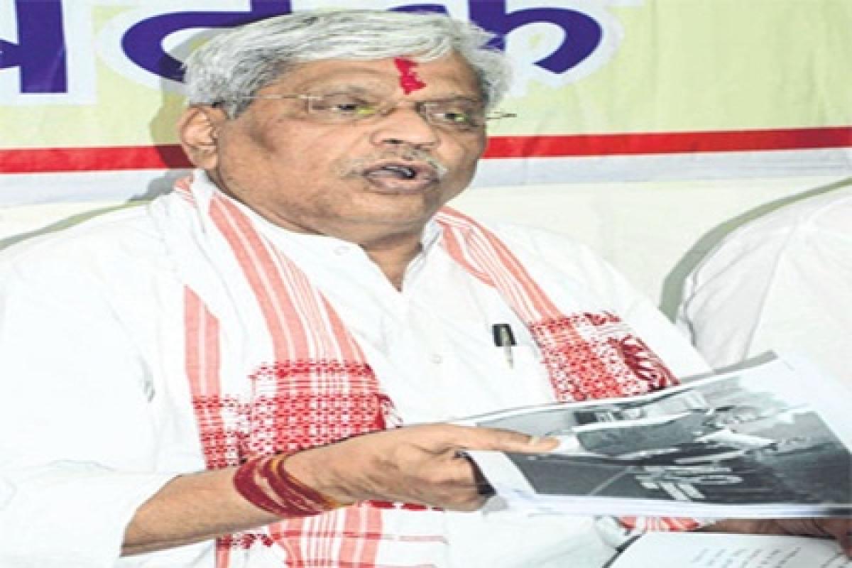 Ujjain: Rahul Gandhi should be taken to task if farmers' agitation turns violent, says Prabhat Jha
