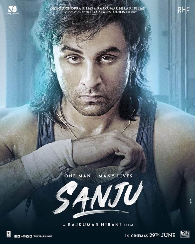 'Sanju' Poster: Ranbir Kapoor rewinds 90's era with this new Sanjay Dutt biopic poster