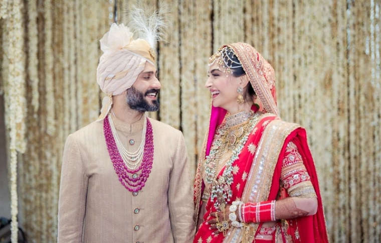Congratulations! Sonam Kapoor and Anand Ahuja tie the knot in Mumbai; see pics and videos