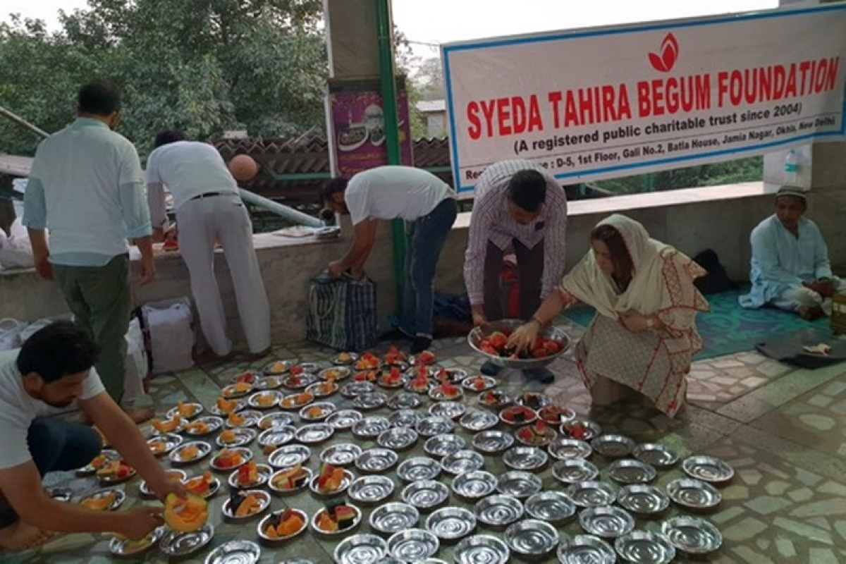 Syeda Tahira Begum Foundation organises Roza Iftar for needy