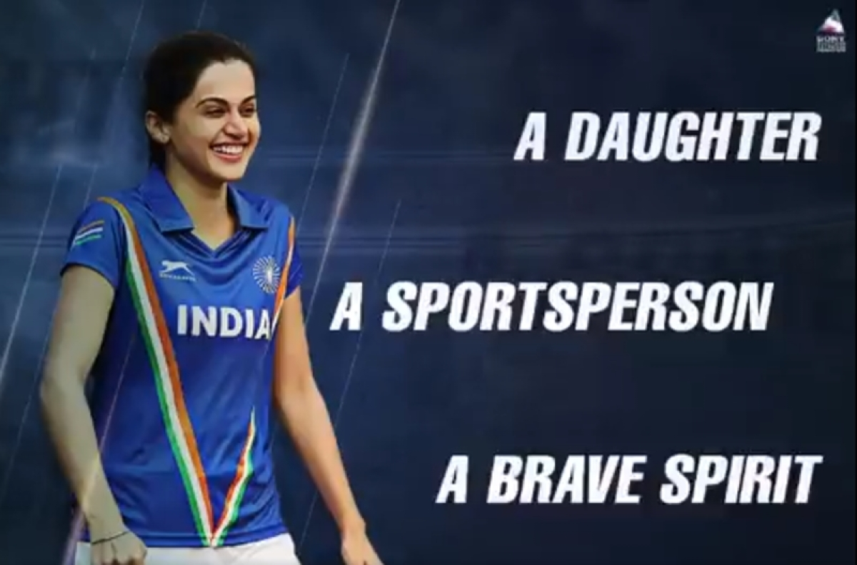 Taapsee Pannu as a dreamer and Achiever in Soorma's new poster