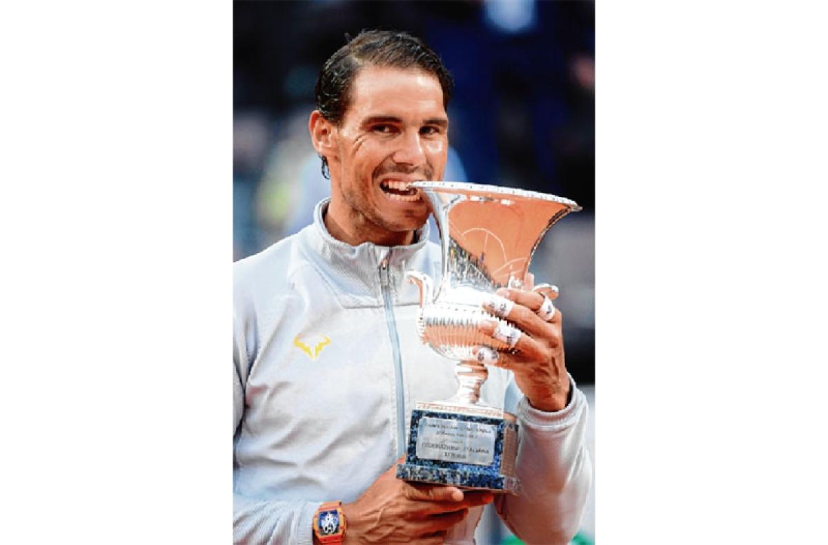 Nadal wrestles back to top spot post Rome win