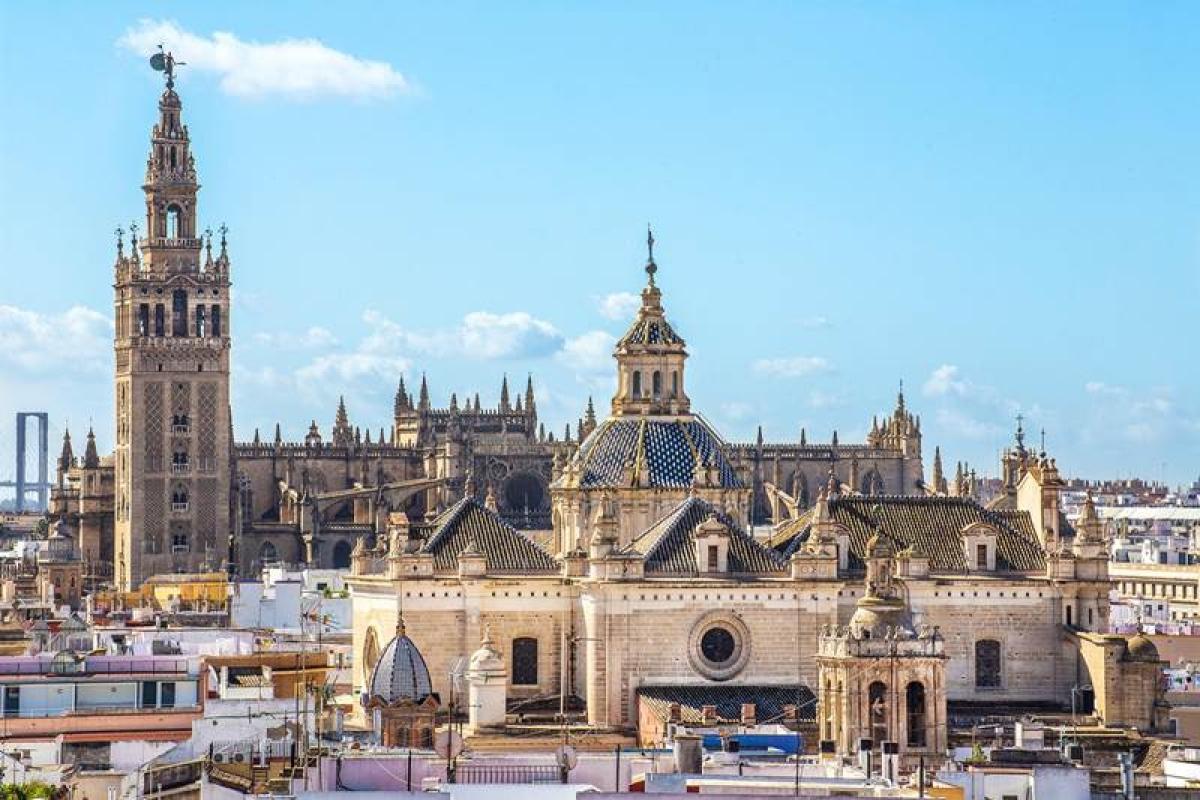 La Giralda and the Cathedral