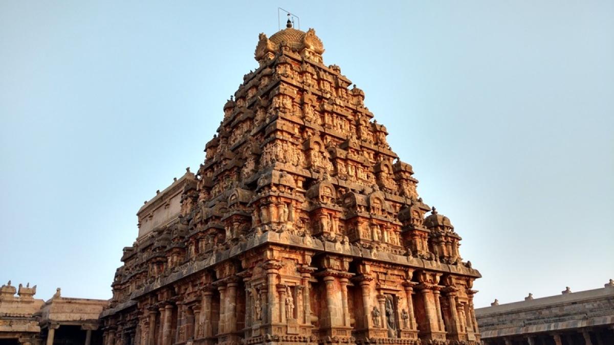 Vimanam of the Airavateshwara Temple at Darasuram